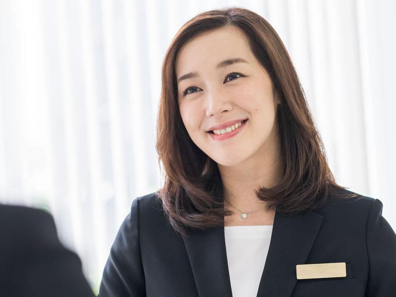 経営統括部 部長 鈴木美香